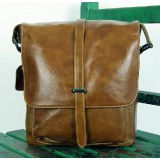 Leather shoulder bag, messenger bags school