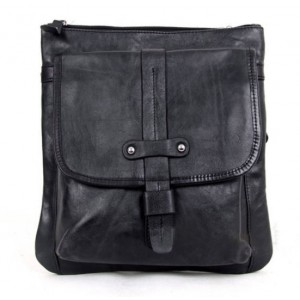 black messenger bag for work