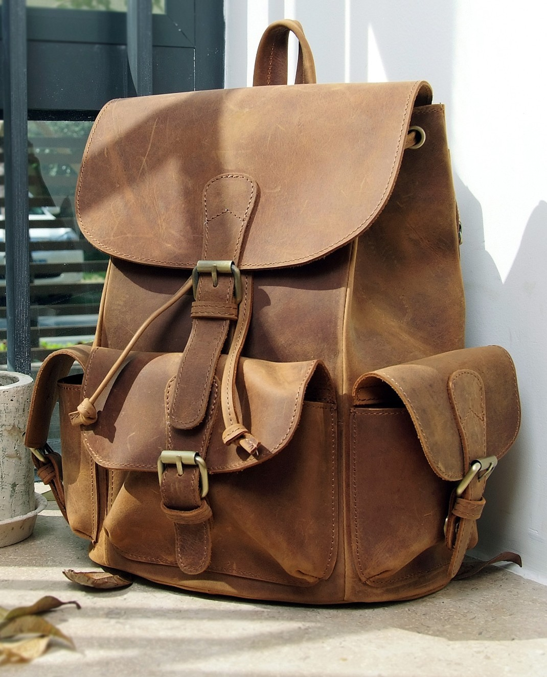Leather Backpacks For Women – TrendBackpack