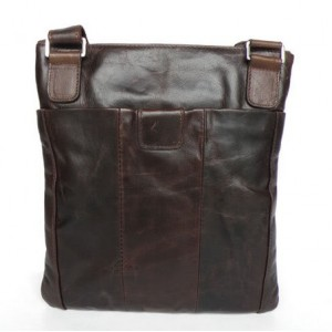 coffee mens vintage leather bag