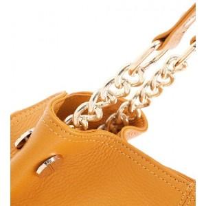 yellow Satchel handbag