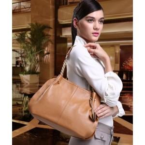 apricot Satchel handbag