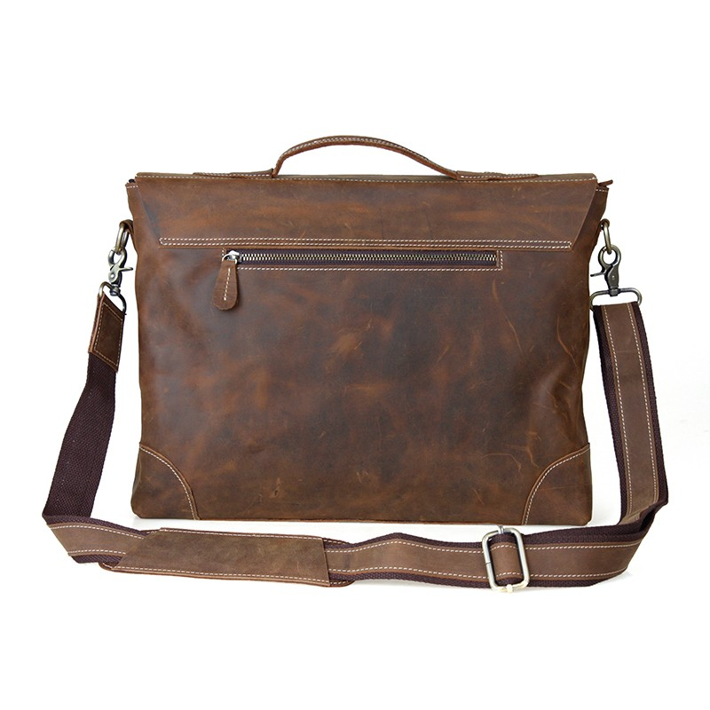 Brown 16 Laptop Computer Bag