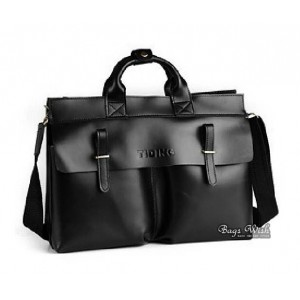 Leather brief bag, 15 inch leather mens laptop bag