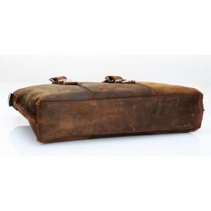 brown Messenger 14 laptop bag