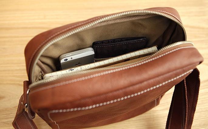 Best leather messenger bag men, male messenger bag - BagsWish