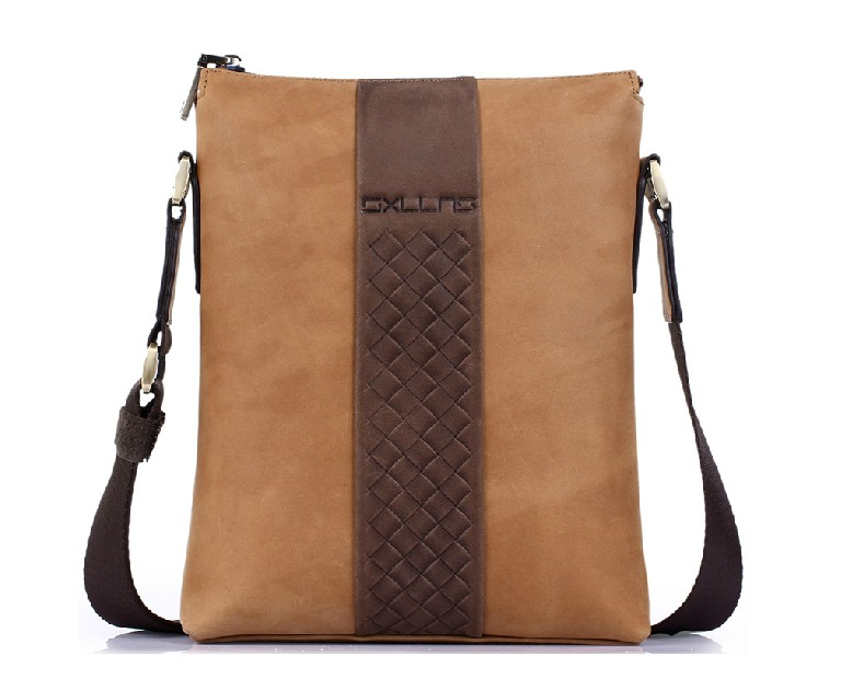 Leather bag, over the shoulder bag - BagsWish