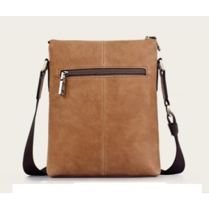 khaki Leather bag