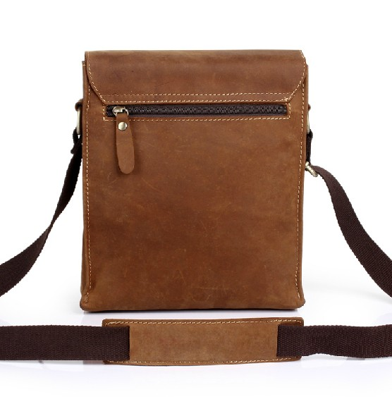 Vintage Leather Crossbody Bag 5