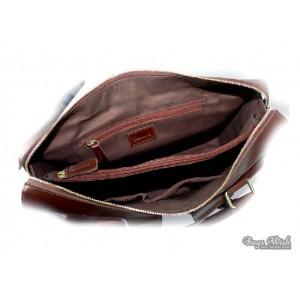 14 leather laptop bag
