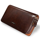 Men's genuine leather clutch
