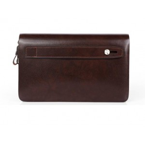 Business leather hand bag