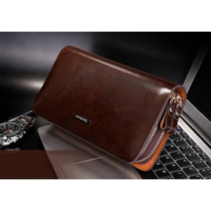 Men's Business leather hand bag