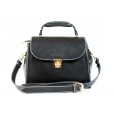 Satchel handbag black