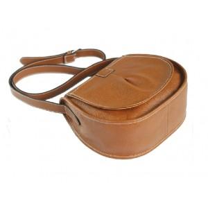 brown Leather hobo handbag