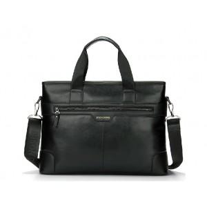 black 14 laptop messenger bag