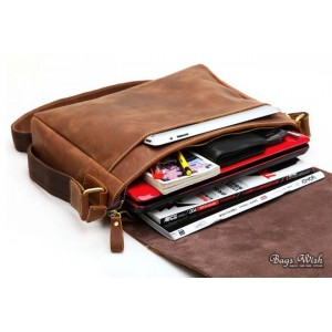 13 inch leather netbook bag