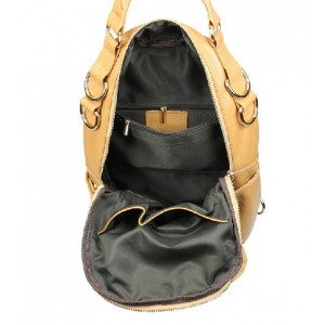 cowhide Backpack shoulder