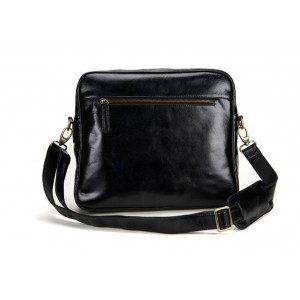 black Over shoulder messenger bag