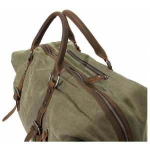 army green Large men and women's travel bag