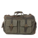 army green Large Traveling canvas bags