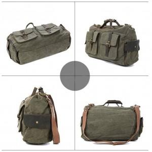 army green Crossbody Cowhide Shoulder bag