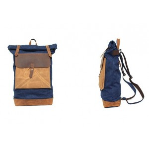 blue Tourism canvas bags