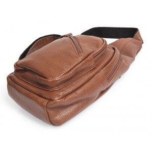 brown Stylish Leather Backpack