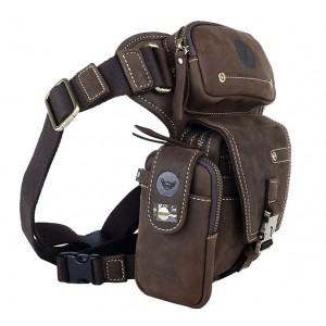 khaki travel fanny pack