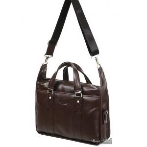 leather computer bag