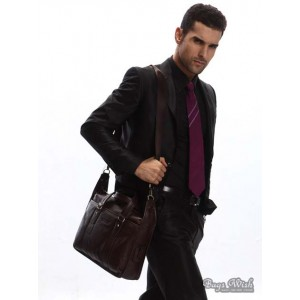 mens leather computer bag