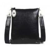 Black leather messenger bag, cool messenger bag