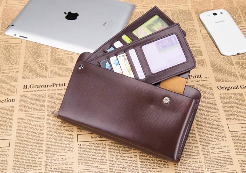 Black Leather Wallet For Men Western Leather Wallet Men
