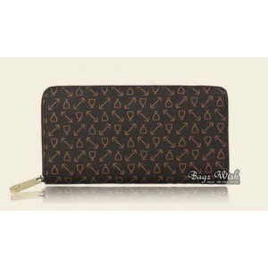 Purse and wallet black, beige non leather wallet