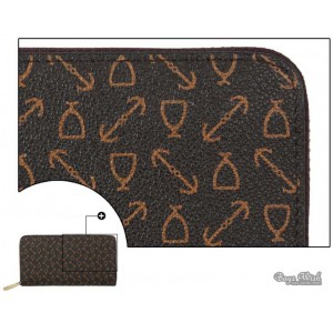 coffee non leather wallet