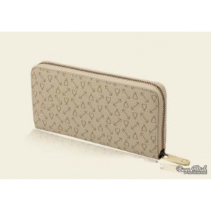 beige Purse and wallet