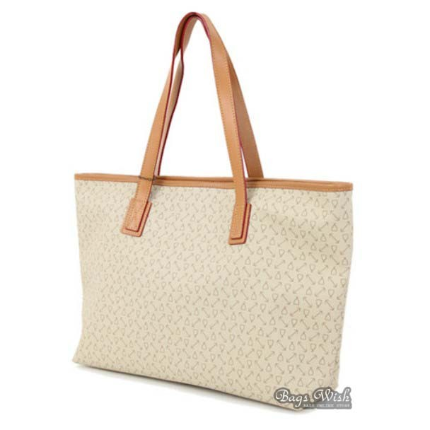 large tote bag beige