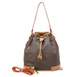 PU shoulder bag beige, coffee hobo purse cheap