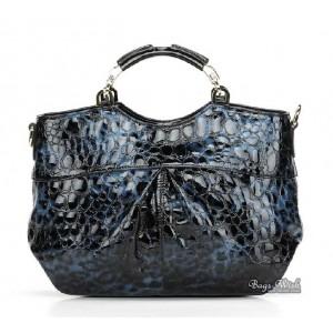Leather handbag purse, leather messenger handbag