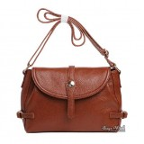 Leather bag for women, leather cross body messenger bag