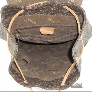 womens rugged leather backpack
