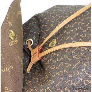 Satchel backpack coffee for women