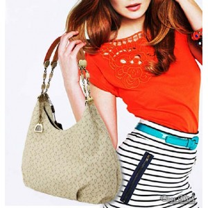 beige hobo handbag cheap