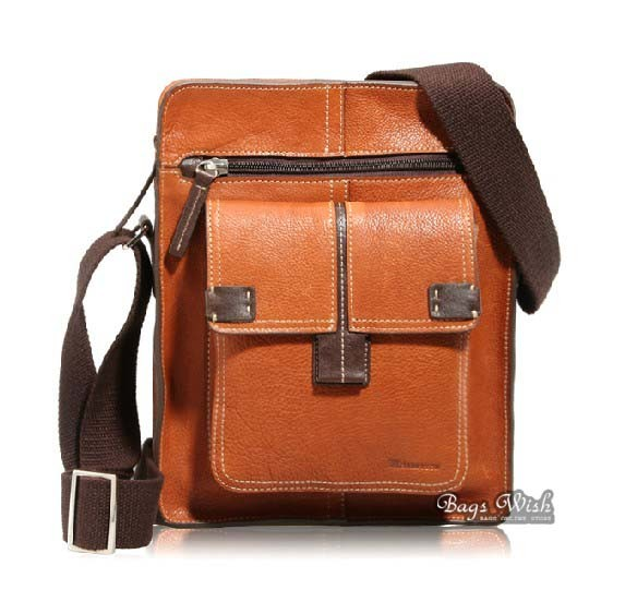 Men leather messenger bag coffee, brown mens vintage leather bag ...