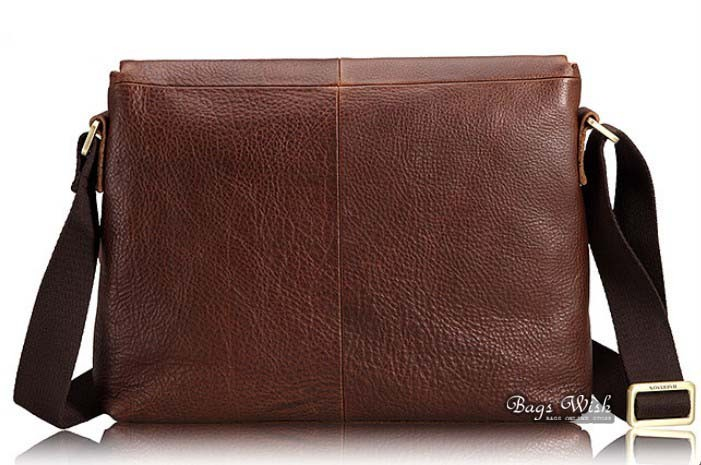 bc0ac22fe32 Messenger bag men leather, coffee shoulder bag for men - BagsWish
